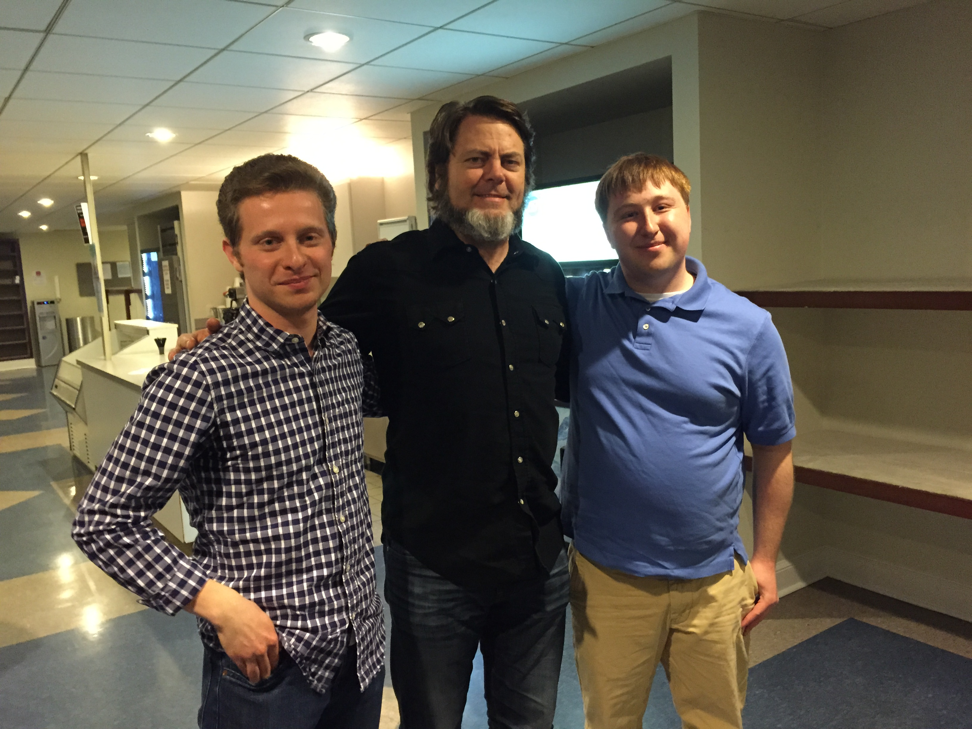 Nick Offerman on Max and Teddy in the Morning at Night (Sometimes)