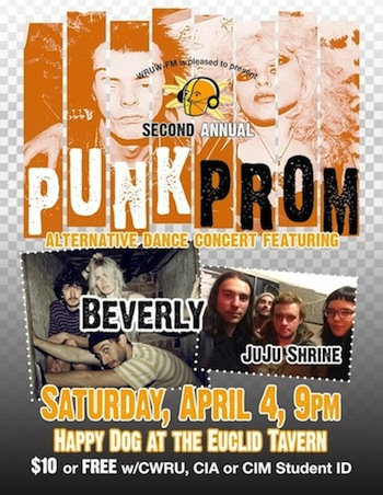 WRUW's Second Annual Punk Prom!