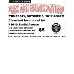 "Cinematheque and WRUW co-sponsor film ""Sex and Broadcasting"" Thursday October 5 at 6:30PM"